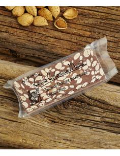 Turrón de Chocolate con Leche y Almendra